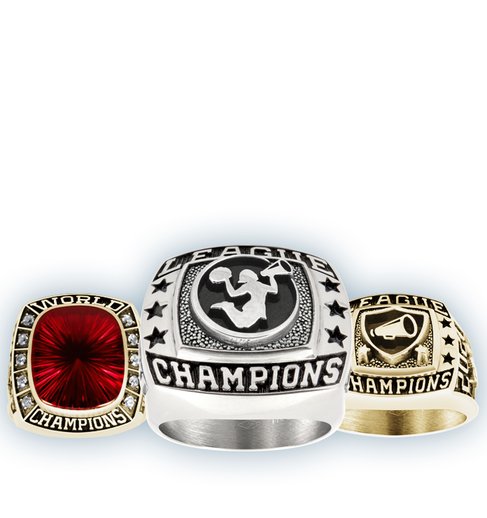 Cheerleading Championship Rings