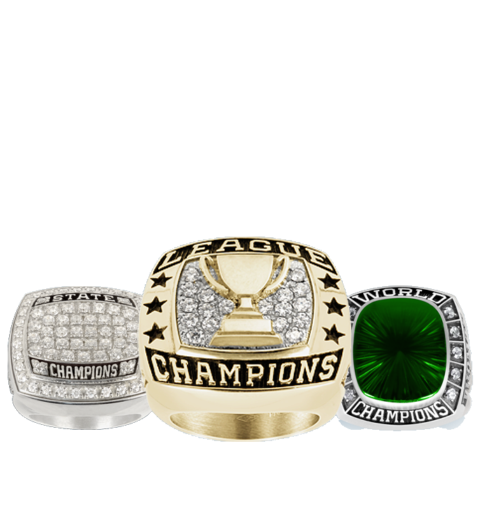Track Championship Rings