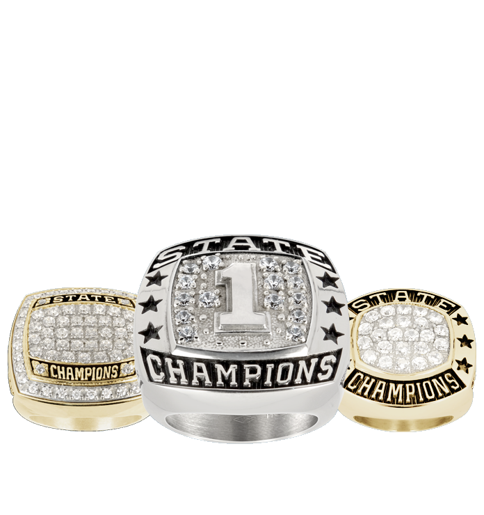 Youth Track Championship Rings