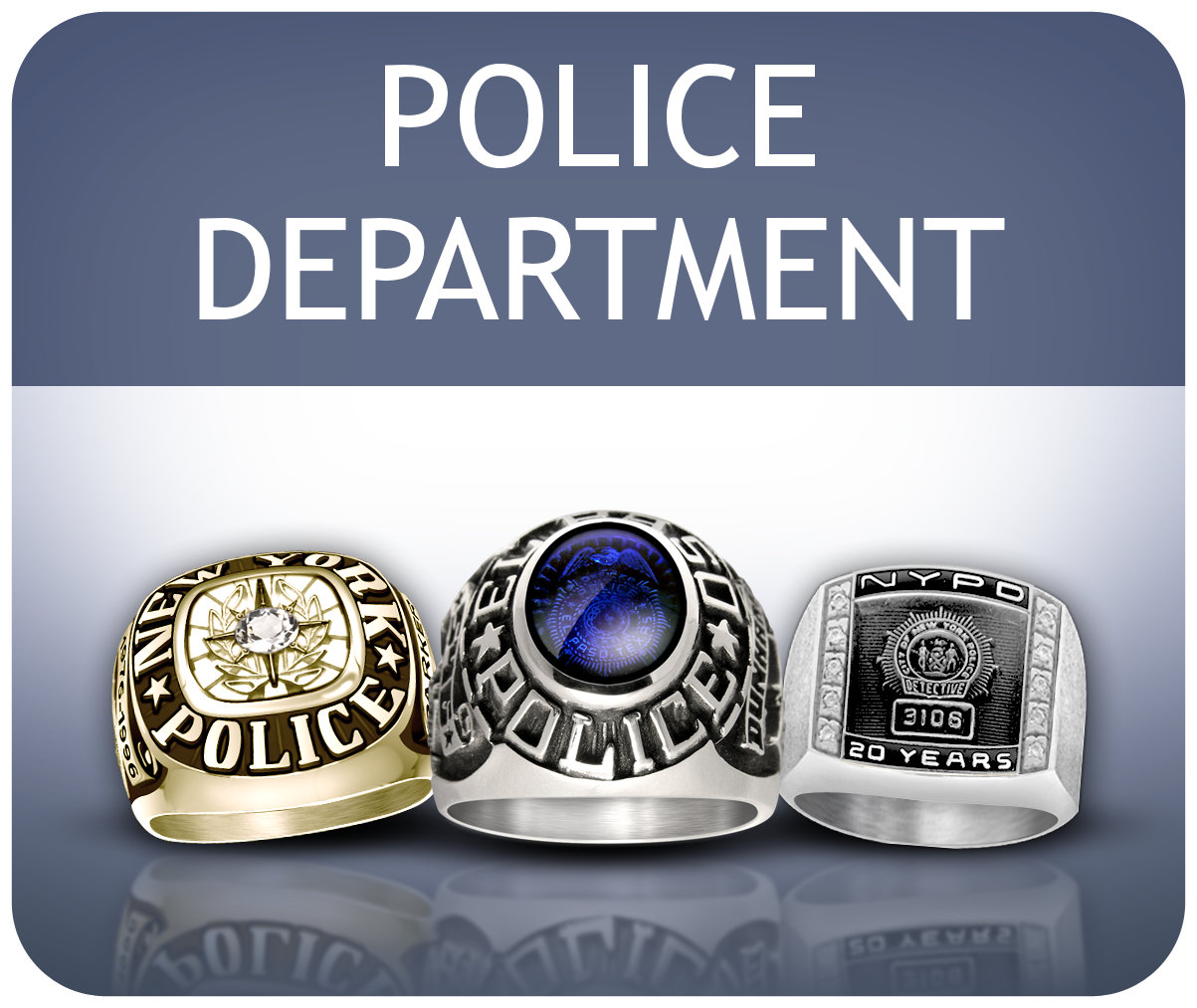 Police Department Rings