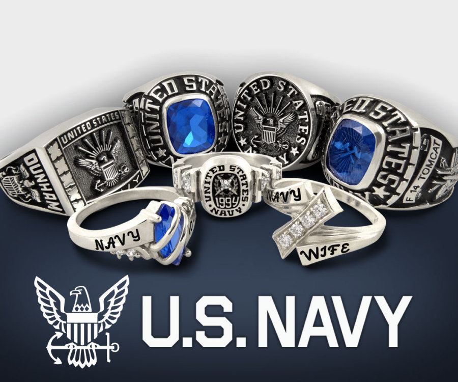 Navy Force Rings